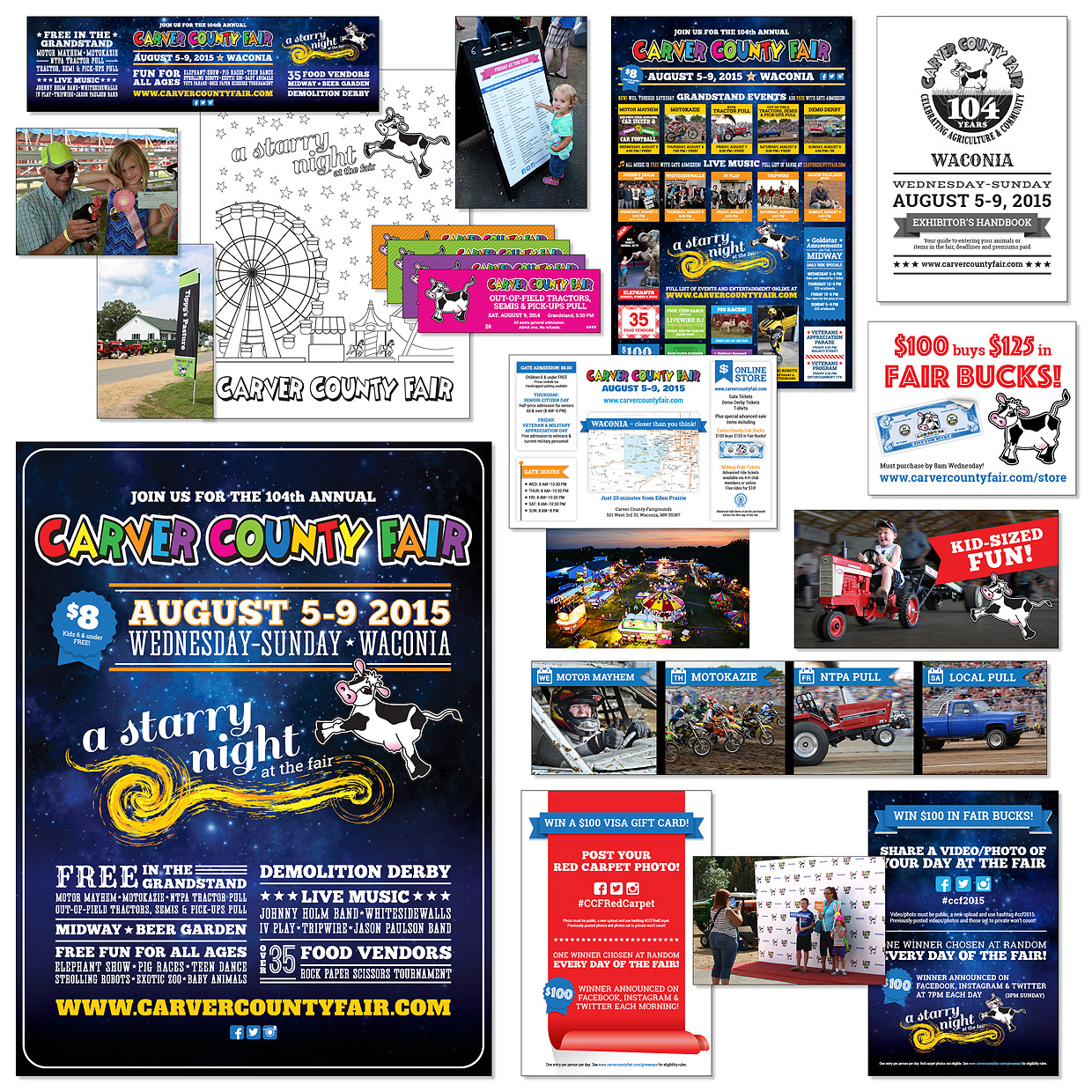 Carver County Fair Collateral